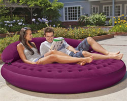 Inflatable Round Daybed
