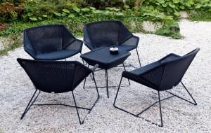 back yard patio set